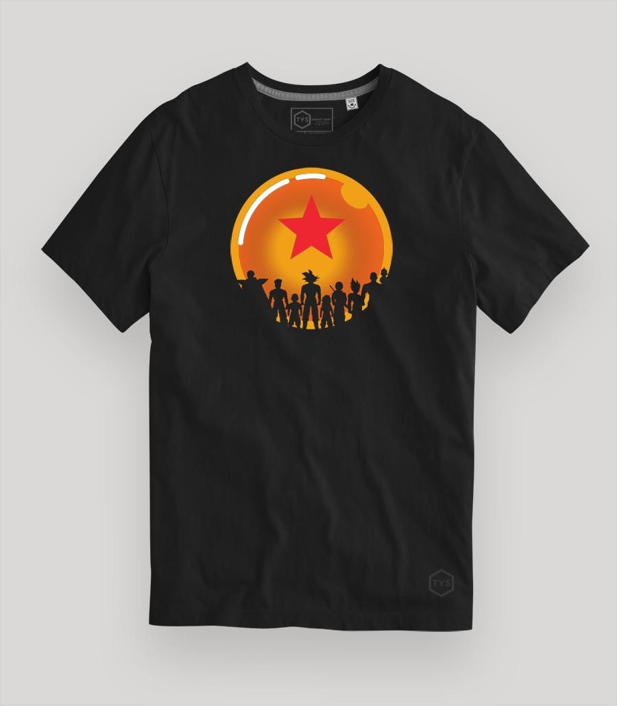 Esferas del dragon camiseta Dragon ball Goku